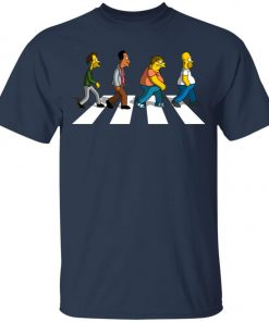 The Beatles Abbey Road The Simpsons Youth T-Shirt
