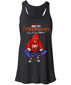 Far From Home Marvel Spiderman Women's Tank Top