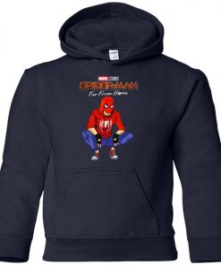 Far From Home Marvel Spiderman Youth Hoodie