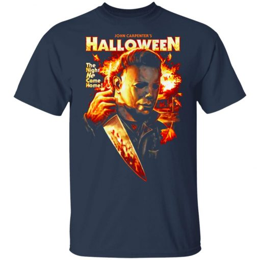 Michael Myers Halloween The Night He Came Home Unisex T-Shirt
