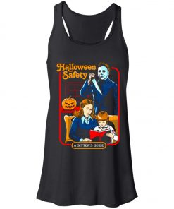 Michael Myers Halloween Safety A Sitter's Guide Women's Tank Top