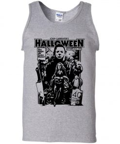 Michael Myers Halloween 1978 Horror Movie Tank Top