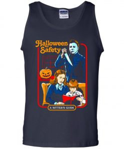 Michael Myers Halloween Safety A Sitter's Guide Tank Top