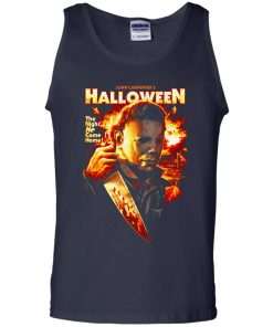 Michael Myers Halloween The Night He Came Home Tank Top
