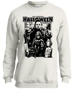 Michael Myers Halloween 1978 Horror Movie Youth Sweatshirt