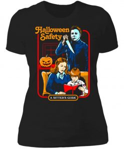 Michael Myers Halloween Safety A Sitter's Guide Women's T-Shirt