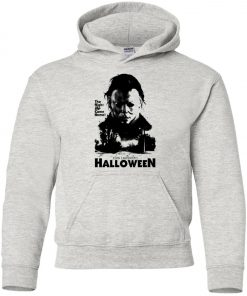 Halloween Horror Movie Michael Myers Youth Hoodie