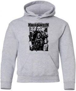 Michael Myers Halloween 1978 Horror Movie Youth Hoodie