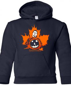 Michael Myers Halloween Pumpkin Youth Hoodie