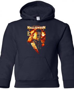 Michael Myers Halloween The Night He Came Home Youth Hoodie