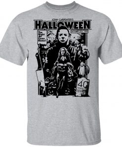 Michael Myers Halloween 1978 Horror Movie Youth T-Shirt