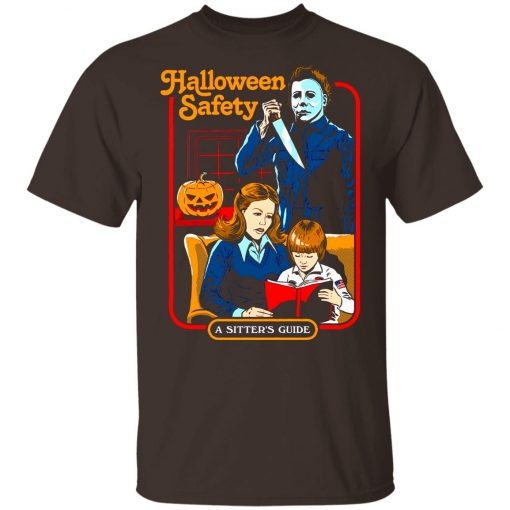 Michael Myers Halloween Safety A Sitter's Guide Youth T-Shirt