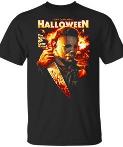 Michael Myers Halloween The Night He Came Home Youth T-Shirt