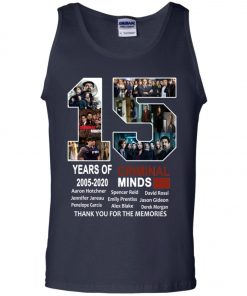 15 Years Of Criminal Minds Tank Top