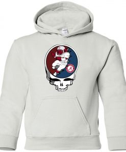 Grateful Dead Alabama Crimson Tide Premium Youth Hoodie