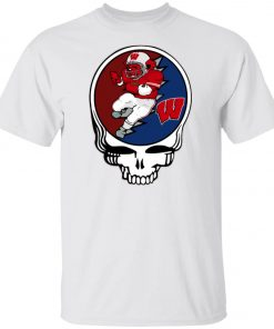 Grateful Dead Wisconsin Badgers Unisex T-Shirt