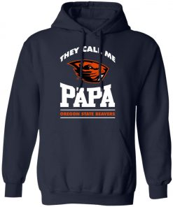 They Call Me Papa Oregon State Beavers Pullover Hoodie