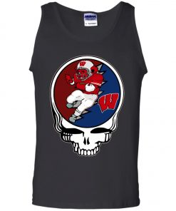 Grateful Dead Wisconsin Badgers Tank Top