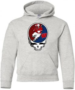 Grateful Dead Wisconsin Badgers Premium Youth Hoodie