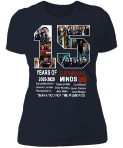 15 Years Of Criminal Minds Women's T-Shirt
