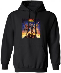 Horror Killers KISS Band Pullover Hoodie