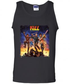 Horror Killers KISS Band Tank Top