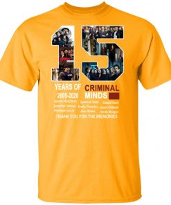 15 Years Of Criminal Minds Unisex T-Shirt
