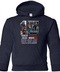 15 Years Of Criminal Minds Premium Youth Hoodie