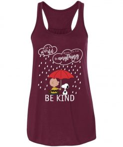 C harlie Brown And Snoopy Be Kind Women's Tank Top