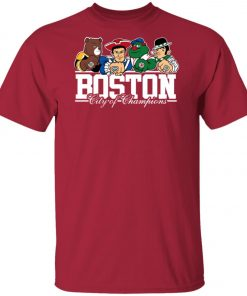 Boston City Of Chamoins Unisex T-Shirt