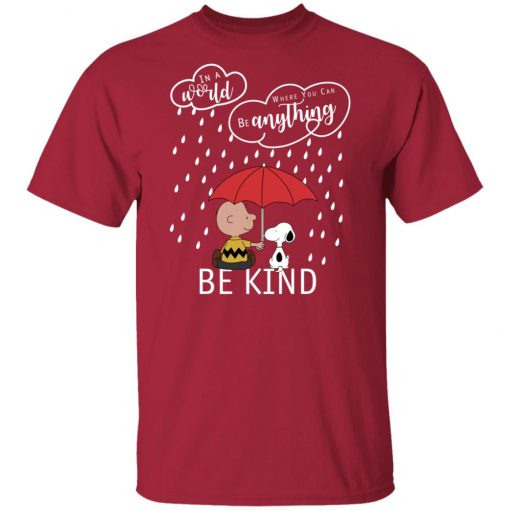 C harlie Brown And Snoopy Be Kind Unisex T-Shirt