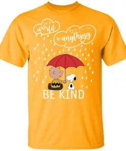 C harlie Brown And Snoopy Be Kind Youth Kid T-Shirt