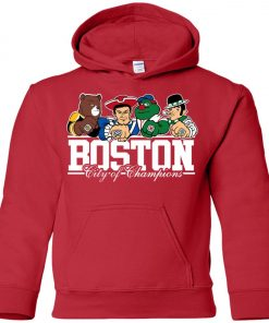 Boston City Of Chamoins Premium Youth Hoodie