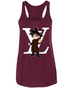 Dragonball x Louis Vuitton Son Goku Women's Tank Top