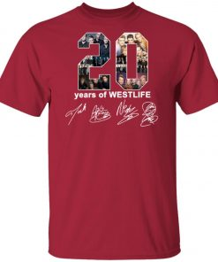 20 Years Of Westlife Unisex T-Shirt