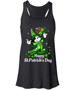 Disney Mickey Happy St Patrick's Day Women's Tank Top