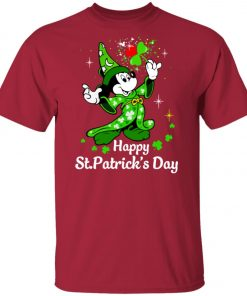 Disney Mickey Happy St Patrick's Day Unisex T-Shirt