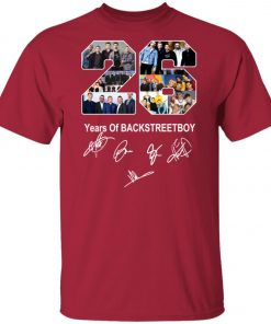 26 Years of Backstreet Boys Signature Unisex T-Shirt