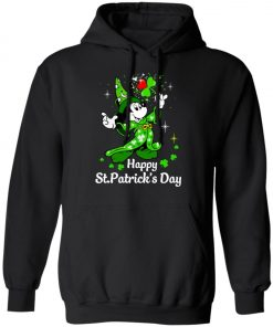 Disney Mickey Happy St Patrick's Day Pullover Hoodie