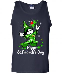 Disney Mickey Happy St Patrick's Day Tank Top