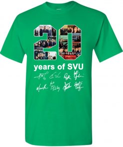 20 Years of Svu Law and Order All Signatures Youth Kid T-Shirt