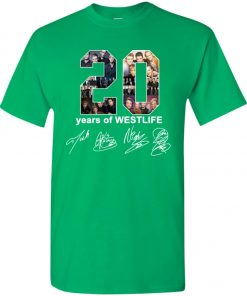 20 Years Of Westlife Youth Kid T-Shirt