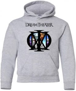 US Rockband Dream Theater Logo Premium Youth Hoodie