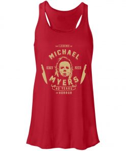 Michael Myers 49 Years Of Horror Women's Tank Top