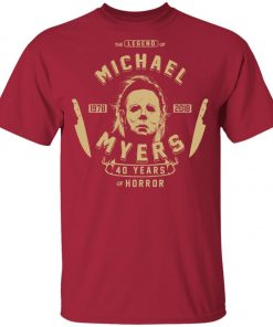 Michael Myers 49 Years Of Horror Youth Kid T-Shirt
