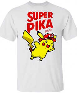 Super Mario Pikachu 1 Youth Kid T-Shirt