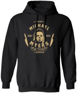Michael Myers 49 Years Of Horror Pullover Hoodie
