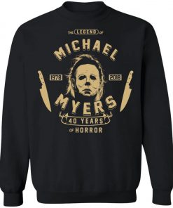 Michael Myers 49 Years Of Horror Sweatshirt