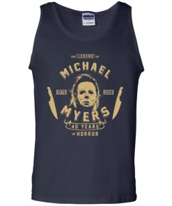 Michael Myers 49 Years Of Horror Tank Top