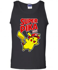 Super Mario Pikachu 1 Tank Top